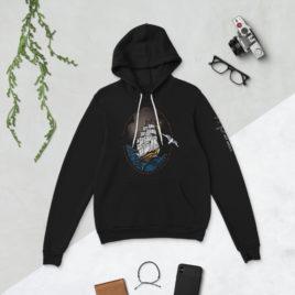 clipper ship hoodie